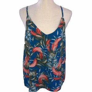 Cotton On Floral Tank Top  Size Lg